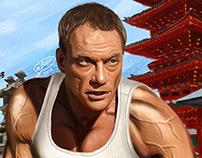 Jean-Claude Van Damme   Digital Painting