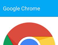 Google Chrome Icons: Material Design