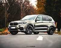 BMW X5 M50d ≠ Black Chrom