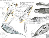 Vacuum Duster Dustroyer: Design Concept Sketch