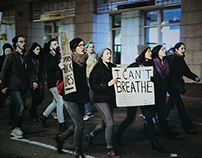 Boston Protest. 12/4/14