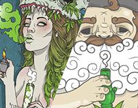 Puff Illustrations - Springleap Challenge