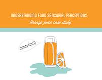 Presentation Design. Food Sensorial Perceptions