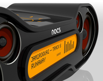NOCS MP3 DOCKING STATION CONCEPT Nº2