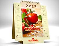 Calendário PREDILECTA 2015
