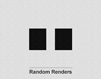 Recent Renders