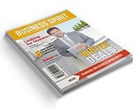Business Spirit Newsletter Magazine - 32 Pages V.2