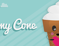 Yummy Cone (Stickers Pack for COCO app)