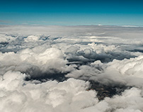 AERIAL VIEWS CLOUDS OVER ANDALUSIA