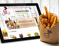Be your chef (Fast Food Website)