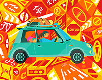 'Driving Abroad' for Sunday Times Travel Magazine