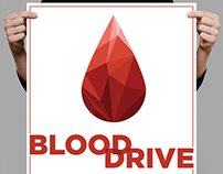 American Red Cross Blood Drive Poster