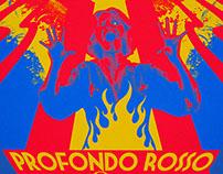 """Profondo Rosso"" Blacklight Screenprint"