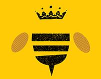 King Bee Honey Logo