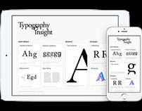 Typography Insight v3.0