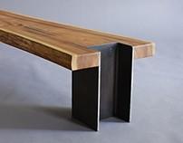 10x42 Bench - Live Edge Cedar Bench