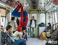 SpiderMan at Egypt