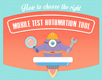 How to choose the right mobile test tool [infographic]
