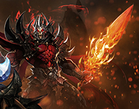 Chaos Heroes Online Landing Page