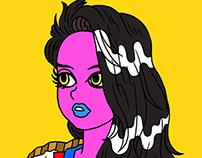 Portrait of color