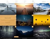 Widescreen - Unique Portfolio and Online Store