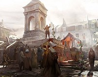 Assassin's Creed : Unity Concept Art