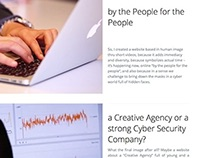 a Creative Agency or a strong Cyber Security Company?