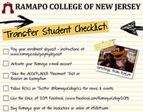 Ramapo Transfer Student Checklist