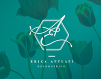 Logo + business cards for Erica Attuati