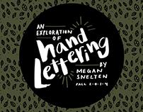 Hand Lettering Exploration