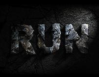 Jurassic world typographic fan art