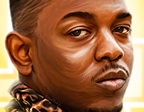King Kendrick - digital painting