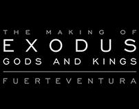 Making Of #Exodus Dioses y Reyes en Fuerteventura