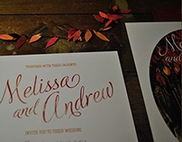 Melissa and Andrew wedding suite