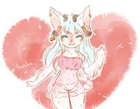 Sasha! Sketch color progress