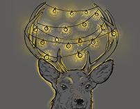 christmas deer / 4.20 Saint-Petersburg