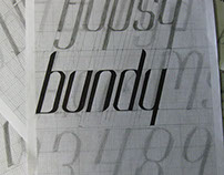 typography project - Bundy