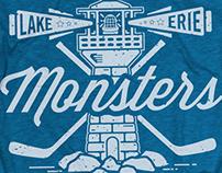 2014-2015 Lake Erie Monsters Merchandise