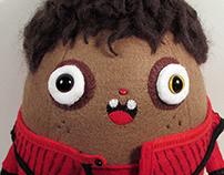Michael Jackson Little Croquette toy