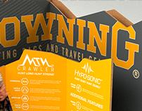 Browning Backpack Corner Display