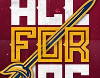2014-2015 Cleveland Cavaliers Concept Art