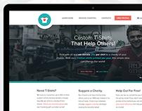 OneBillionShirts - Web Design
