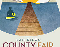 SD County Fair - Poster Project