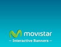 [Movistar Venezuela] Interactive Banners