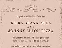 Rizzo Wedding