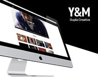 Y&M  Dupla Creativa / Sitio Web