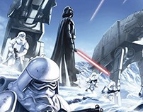 Star Wars Hoth Battle