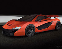 McLaren P1 Paper-Super-Craft