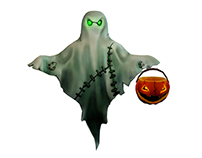 Low poly  for Halloween