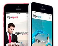 Ingesport: web design